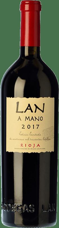 33,95 € Envío gratis | Vino tinto Lan a Mano Crianza D.O.Ca. Rioja La Rioja España Tempranillo, Graciano, Mazuelo Botella 75 cl