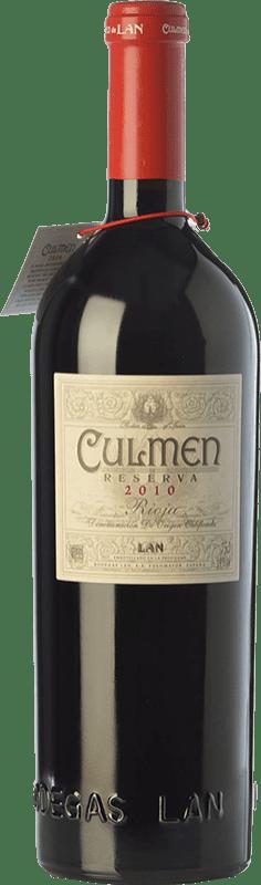 46,95 € Envío gratis | Vino tinto Lan Culmen Reserva D.O.Ca. Rioja La Rioja España Tempranillo, Graciano Botella 75 cl