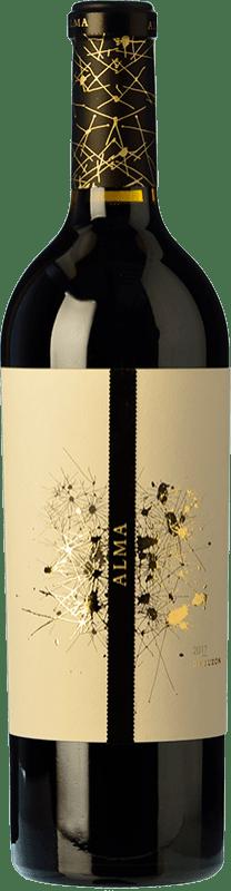 33,95 € Envío gratis | Vino tinto Luzón Alma de Luzón Reserva D.O. Jumilla Castilla la Mancha España Syrah, Cabernet Sauvignon, Monastrell Botella 75 cl