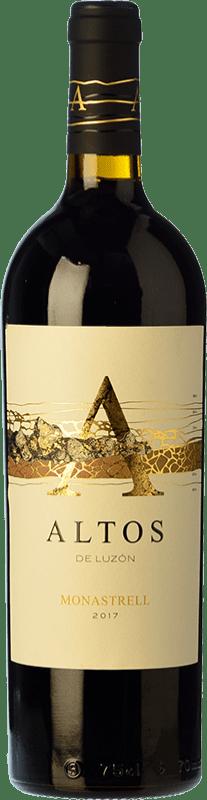 16,95 € 免费送货 | 红酒 Luzón Altos de Luzón Crianza D.O. Jumilla 卡斯蒂利亚 - 拉曼恰 西班牙 Tempranillo, Cabernet Sauvignon, Monastrell 瓶子 75 cl