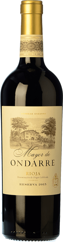31,95 € | Red wine Ondarre Mayor de Ondarre Especial Reserva D.O.Ca. Rioja The Rioja Spain Tempranillo, Mazuelo Bottle 75 cl