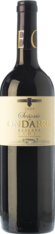 17,95 € Free Shipping | Red wine Ondarre Señorío de Ondarre Reserva D.O.Ca. Rioja The Rioja Spain Tempranillo, Grenache, Mazuelo Bottle 75 cl