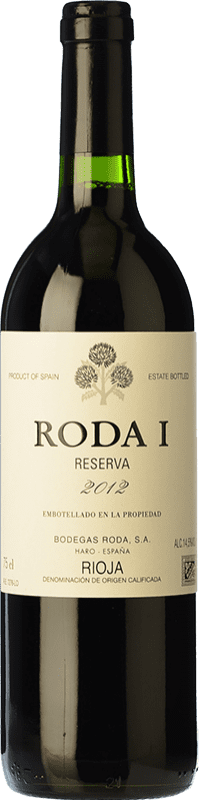 49,95 € Free Shipping | Red wine Bodegas Roda I Reserva D.O.Ca. Rioja The Rioja Spain Tempranillo Bottle 75 cl