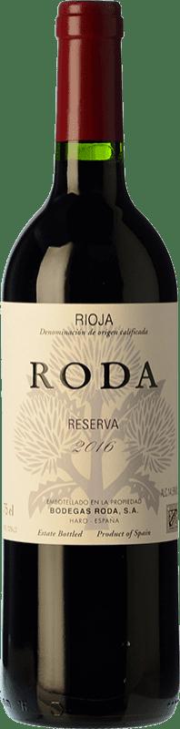 59,95 € 免费送货 | 红酒 Bodegas Roda Reserva D.O.Ca. Rioja 拉里奥哈 西班牙 Tempranillo, Grenache, Graciano 瓶子 Magnum 1,5 L