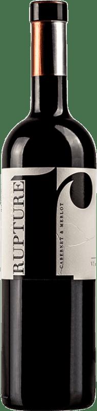 19,95 € Free Shipping | Red wine Valtravieso Rupture Crianza I.G.P. Vino de la Tierra de Castilla y León Castilla y León Spain Merlot, Cabernet Sauvignon Bottle 75 cl
