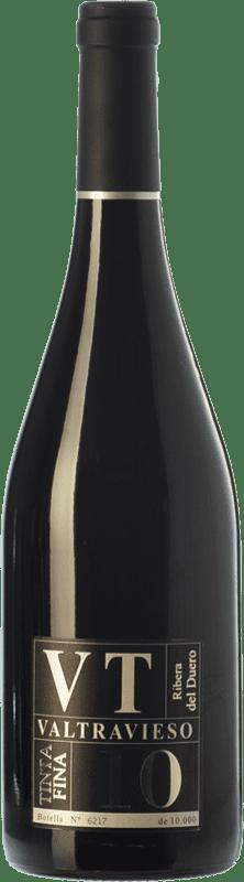 23,95 € Envío gratis | Vino tinto Valtravieso VT Tinta Fina D.O. Ribera del Duero Castilla y León España Tempranillo Botella 75 cl
