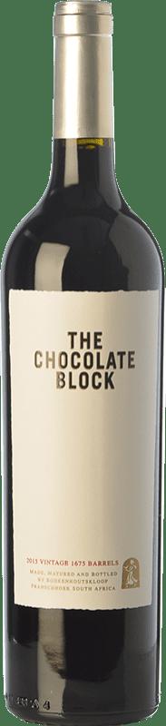 34,95 € Free Shipping | Red wine Boekenhoutskloof Chocolate Block Crianza I.G. Swartland Swartland South Africa Syrah, Grenache, Cabernet Sauvignon, Cinsault, Viognier Bottle 75 cl