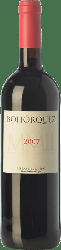 24,95 € | Red wine Bohórquez Reserva D.O. Ribera del Duero Castilla y León Spain Tempranillo, Merlot, Cabernet Sauvignon Bottle 75 cl