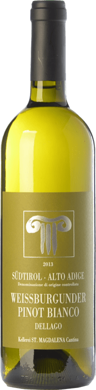 17,95 € Free Shipping | White wine Bolzano Pinot Bianco Dellago D.O.C. Alto Adige Trentino-Alto Adige Italy Pinot White Bottle 75 cl