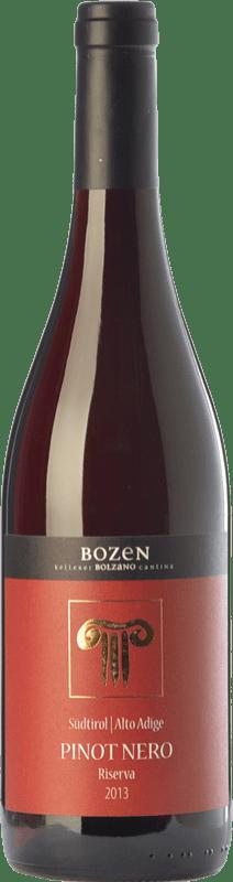 31,95 € Free Shipping | Red wine Bolzano Pinot Nero Riserva Reserva D.O.C. Alto Adige Trentino-Alto Adige Italy Pinot Black Bottle 75 cl