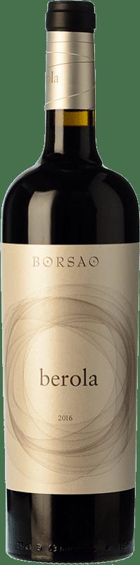 14,95 € Envío gratis | Vino tinto Borsao Berola Crianza D.O. Campo de Borja Aragón España Syrah, Garnacha, Cabernet Sauvignon Botella 75 cl