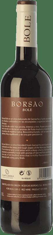 8,95 € Free Shipping   Red wine Borsao Bole Joven D.O. Campo de Borja Aragon Spain Syrah, Grenache Bottle 75 cl