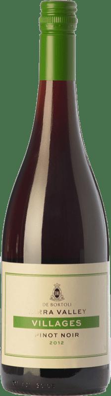 11,95 € 免费送货 | 红酒 Bortoli Villages Crianza I.G. Yarra Valley 亚拉河谷 澳大利亚 Pinot Black 瓶子 75 cl