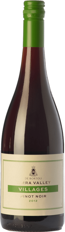 11,95 € Free Shipping | Red wine Bortoli Villages Crianza I.G. Yarra Valley Yarra Valley Australia Pinot Black Bottle 75 cl