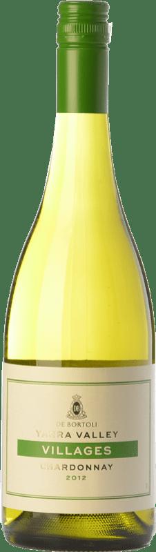 11,95 € 免费送货 | 白酒 Bortoli Villages Crianza I.G. Yarra Valley 亚拉河谷 澳大利亚 Chardonnay 瓶子 75 cl