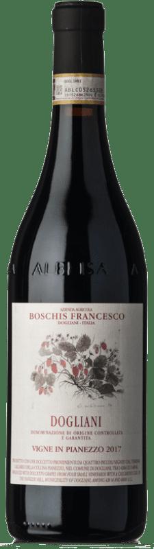 16,95 € Free Shipping | Red wine Boschis Pianezzo D.O.C.G. Dolcetto di Dogliani Superiore Piemonte Italy Dolcetto Bottle 75 cl