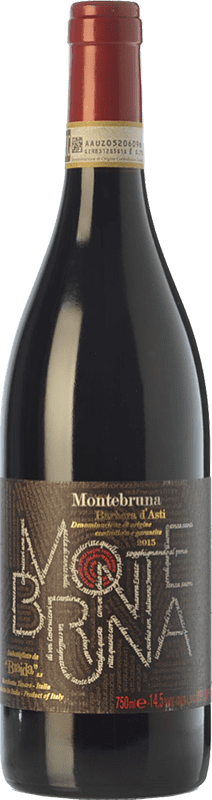 18,95 € Envoi gratuit | Vin rouge Braida Montebruna D.O.C. Barbera d'Asti Piémont Italie Barbera Bouteille 75 cl