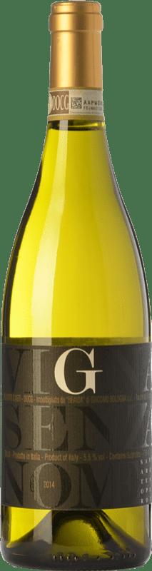 14,95 € 免费送货 | 甜酒 Braida Vigna Senza Nome D.O.C.G. Moscato d'Asti 皮埃蒙特 意大利 Muscatel White 瓶子 75 cl