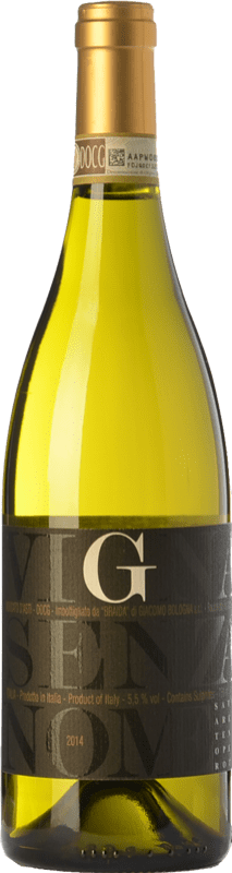 14,95 € Free Shipping | Sweet wine Braida Vigna Senza Nome D.O.C.G. Moscato d'Asti Piemonte Italy Muscatel White Bottle 75 cl