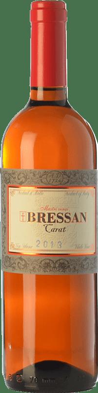39,95 € Free Shipping | White wine Bressan Carat D.O.C. Collio Goriziano-Collio Friuli-Venezia Giulia Italy Malvasía, Ribolla Gialla, Tocai Friulano Bottle 75 cl