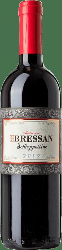 49,95 € Free Shipping | Red wine Bressan D.O.C. Friuli Isonzo Friuli-Venezia Giulia Italy Schioppettino Bottle 75 cl