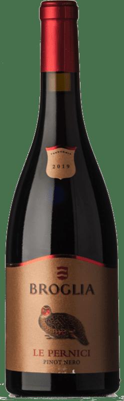 31,95 € | Red wine Broglia Le Pernici D.O.C. Monferrato Piemonte Italy Dolcetto, Barbera Bottle 75 cl
