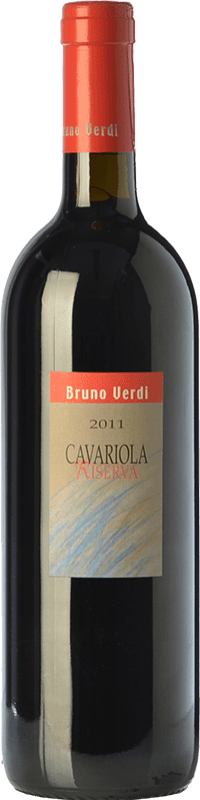 35,95 € | Red wine Bruno Verdi Cavariola Riserva Reserva D.O.C. Oltrepò Pavese Lombardia Italy Barbera, Croatina, Rara, Ughetta Bottle 75 cl
