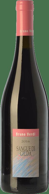 11,95 € | Sweet wine Bruno Verdi Sangue di Giuda Paradiso D.O.C. Oltrepò Pavese Lombardia Italy Barbera, Croatina, Rara Bottle 75 cl