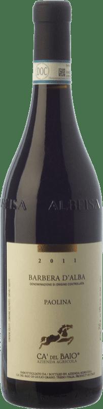 12,95 € Free Shipping   Red wine Cà del Baio Barbera d'Alba Paolina Crianza D.O.C. Piedmont Piemonte Italy Barbera Bottle 75 cl