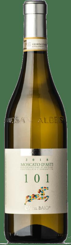 15,95 € Free Shipping   Sweet wine Cà del Baio Particella 101 D.O.C.G. Moscato d'Asti Piemonte Italy Muscatel White Bottle 75 cl