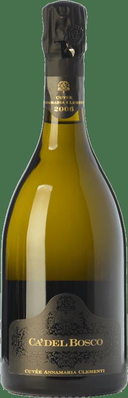 196,95 € Free Shipping | Rosé sparkling Ca' del Bosco Cuvée Anna Maria Clementi Rosé 2007 D.O.C.G. Franciacorta Lombardia Italy Pinot Black Bottle 75 cl