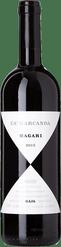 56,95 € | Red wine Ca' Marcanda Magari D.O.C. Bolgheri Tuscany Italy Merlot, Cabernet Sauvignon, Cabernet Franc Bottle 75 cl