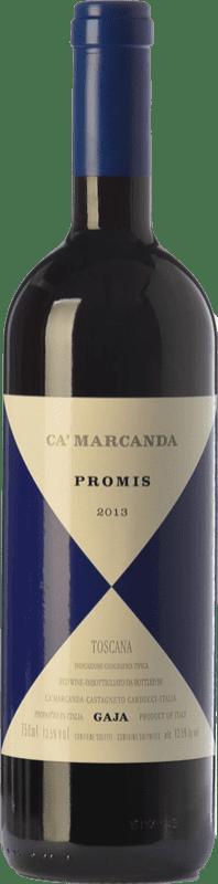 34,95 € | Red wine Ca' Marcanda Promis D.O.C. Bolgheri Tuscany Italy Merlot, Syrah, Sangiovese Bottle 75 cl