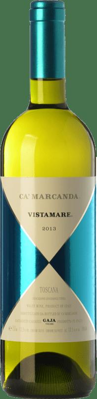 39,95 € | White wine Ca' Marcanda Vistamare D.O.C. Bolgheri Tuscany Italy Viognier, Chardonnay, Sauvignon White, Vermentino Bottle 75 cl