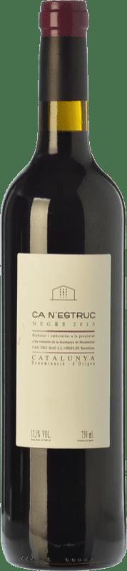 5,95 € Envoi gratuit | Vin rouge Ca N'Estruc Joven D.O. Catalunya Catalogne Espagne Syrah, Cabernet Sauvignon Bouteille 75 cl