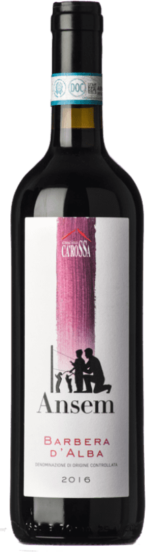 12,95 € Free Shipping | Red wine Ca' Rossa D.O.C. Barbera d'Alba Piemonte Italy Barbera Bottle 75 cl