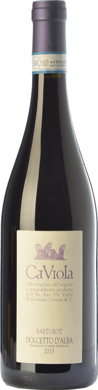 17,95 € Free Shipping | Red wine Ca' Viola Barturot D.O.C.G. Dolcetto d'Alba Piemonte Italy Dolcetto Bottle 75 cl