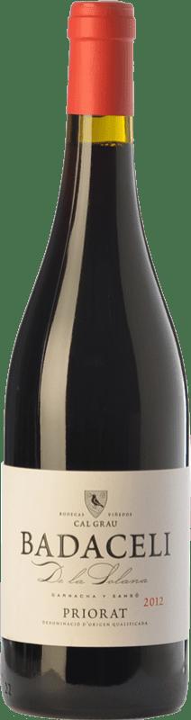 22,95 € Envío gratis | Vino tinto Cal Grau Badaceli de la Solana Crianza D.O.Ca. Priorat Cataluña España Garnacha, Cariñena Botella 75 cl