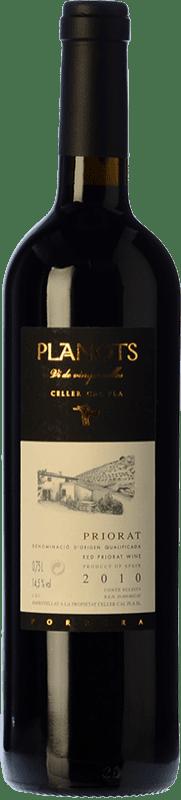 63,95 € 免费送货 | 红酒 Cal Pla Planots Crianza D.O.Ca. Priorat 加泰罗尼亚 西班牙 Grenache, Carignan 瓶子 75 cl