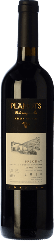 63,95 € Free Shipping | Red wine Cal Pla Planots Crianza D.O.Ca. Priorat Catalonia Spain Grenache, Carignan Bottle 75 cl