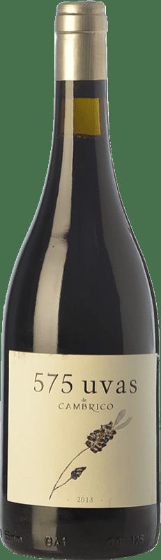 19,95 € Free Shipping | Red wine Cámbrico 575 Uvas Crianza I.G.P. Vino de la Tierra de Castilla y León Castilla y León Spain Tempranillo, Rufete, Calabrese Bottle 75 cl