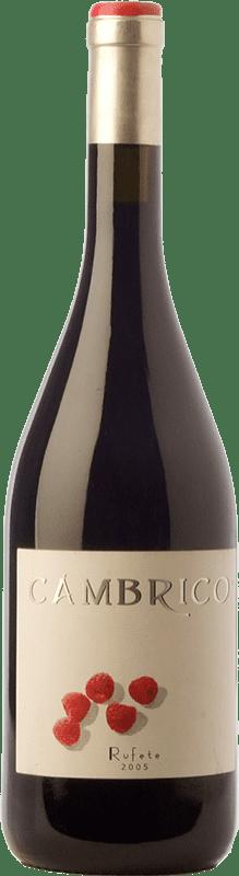 41,95 € | Red wine Cámbrico Crianza 2009 I.G.P. Vino de la Tierra de Castilla y León Castilla y León Spain Rufete Bottle 75 cl