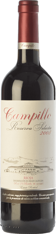 15,95 € | Red wine Campillo Selecta Reserva D.O.Ca. Rioja The Rioja Spain Tempranillo Bottle 75 cl