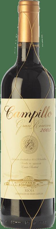 33,95 € Envío gratis | Vino tinto Campillo Gran Reserva D.O.Ca. Rioja La Rioja España Tempranillo, Graciano Botella 75 cl