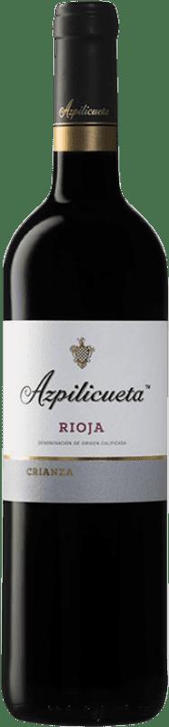 9,95 € Envío gratis | Vino tinto Campo Viejo Azpilicueta Crianza D.O.Ca. Rioja La Rioja España Tempranillo, Graciano, Mazuelo Botella 75 cl