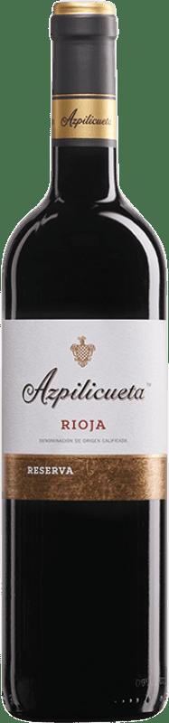 16,95 € Envío gratis | Vino tinto Campo Viejo Azpilicueta Reserva D.O.Ca. Rioja La Rioja España Tempranillo, Graciano, Mazuelo Botella 75 cl