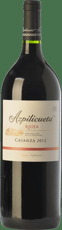 21,95 € | Red wine Campo Viejo Azpilicueta Crianza D.O.Ca. Rioja The Rioja Spain Tempranillo, Graciano, Mazuelo Magnum Bottle 1,5 L