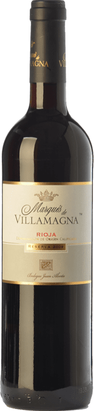 13,95 € Free Shipping | Red wine Campo Viejo Marqués de Villamagna Reserva D.O.Ca. Rioja The Rioja Spain Tempranillo Bottle 75 cl