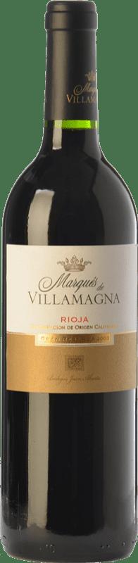 16,95 € | Red wine Campo Viejo Marqués de Villamagna Gran Reserva D.O.Ca. Rioja The Rioja Spain Tempranillo, Graciano, Mazuelo Bottle 75 cl