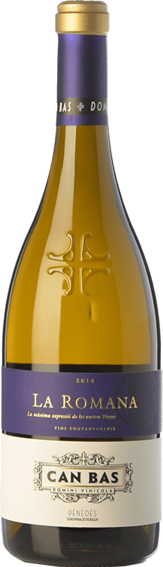 54,95 € | White wine Can Bas La Romana Crianza D.O. Penedès Catalonia Spain Xarel·lo, Chardonnay Bottle 75 cl